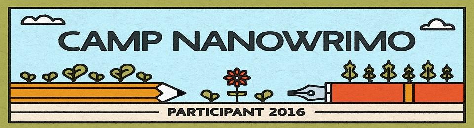 Vorbereitungen für den CampNaNoWriMo Juli 2016