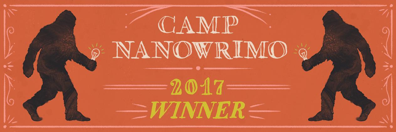 CampNaNoWriMo 2017 – Das kürzeste Camp ever